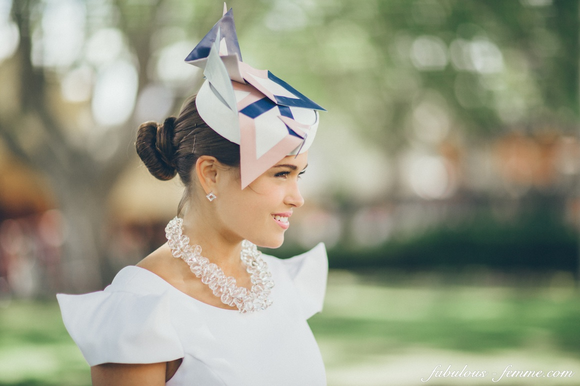 Geometric Style Fascinator a707bc4427a